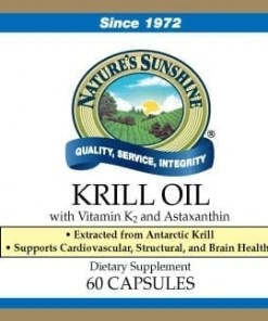 Krill Oil with Vitamin K2