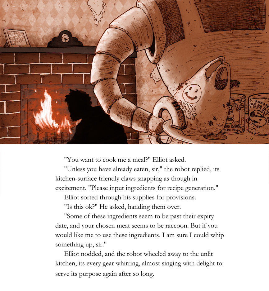 Walking in a Winter Wasteland: page 5