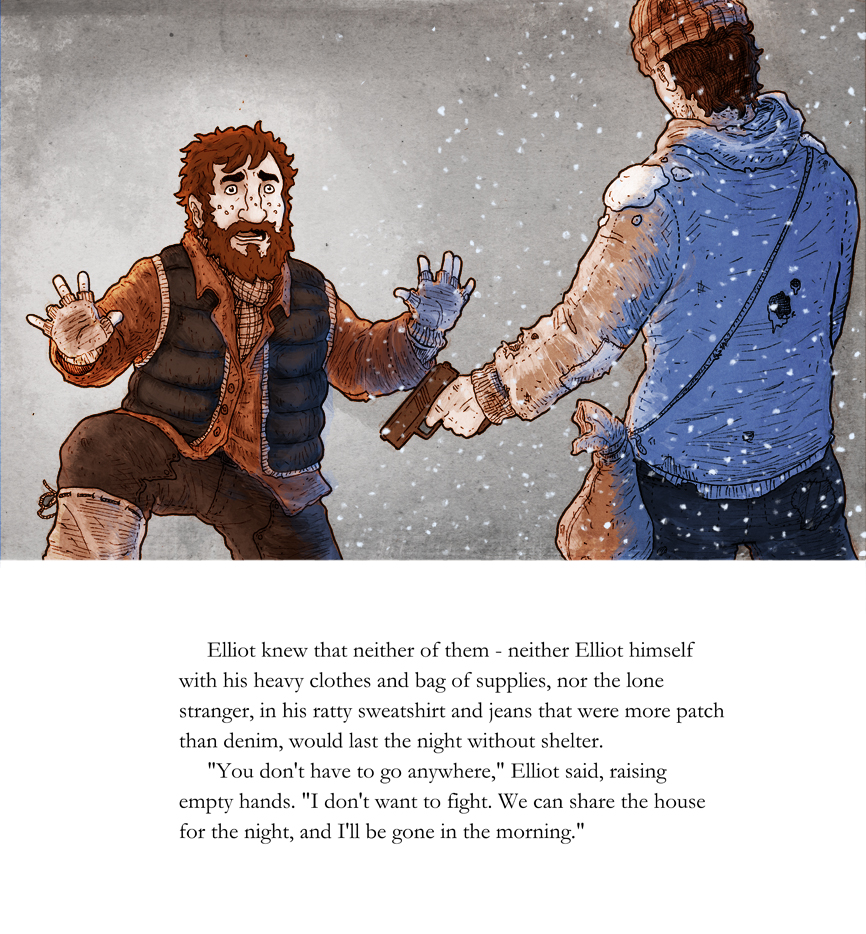 Walking in a Winter Wasteland: page 8