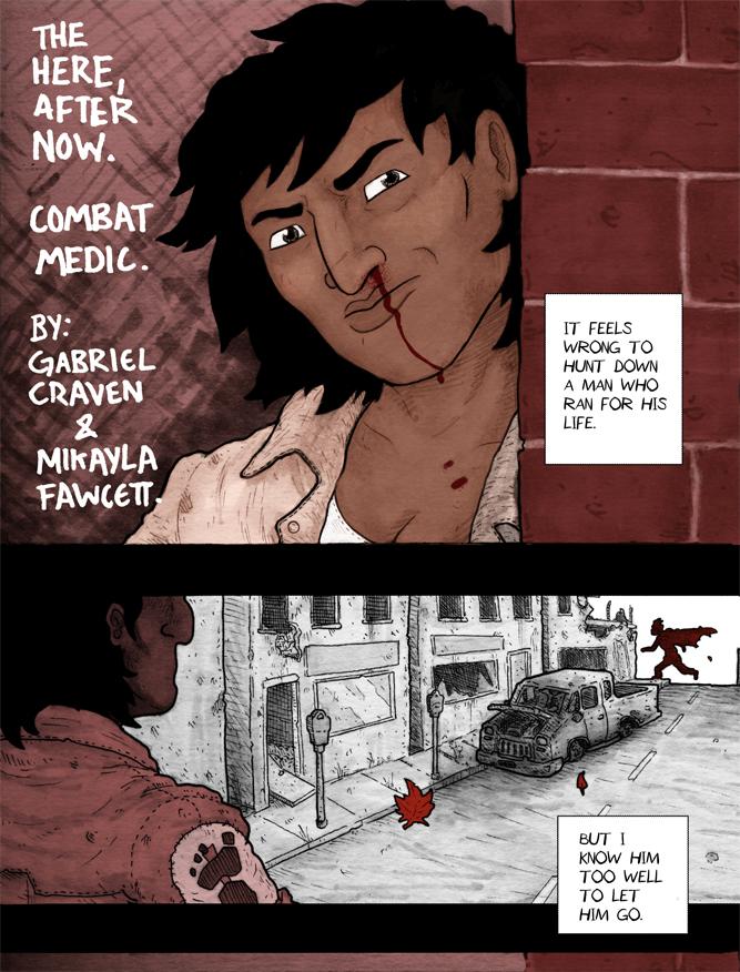 Combat Medic: Page 1