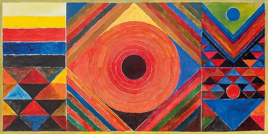 Look 6 Paintings By S H Raza Ideas Activities The