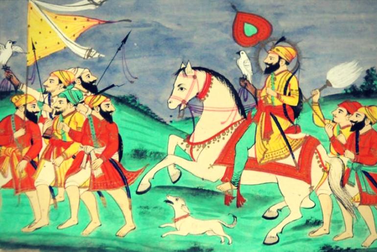 Guru-Gobind-Singh's-Baaj