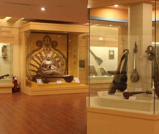 Sharan Rani Gallery of Musical Instruments, National Museum Delhi
