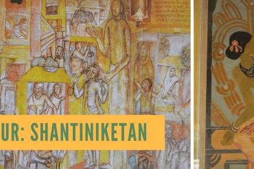 shantiniketan art