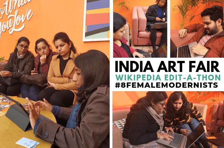 india art fair edit-a-thon