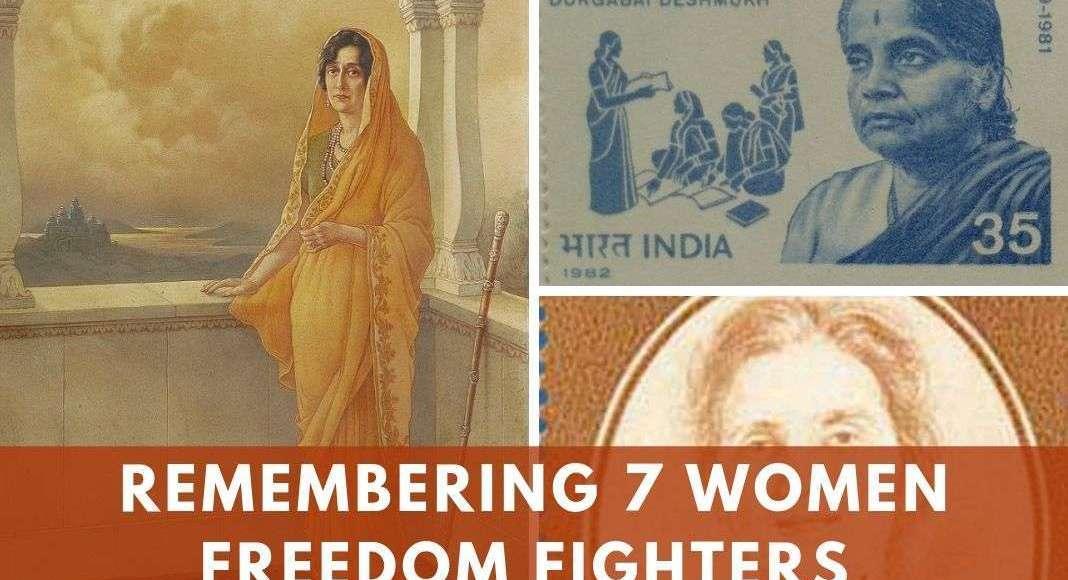 women freedom fighters