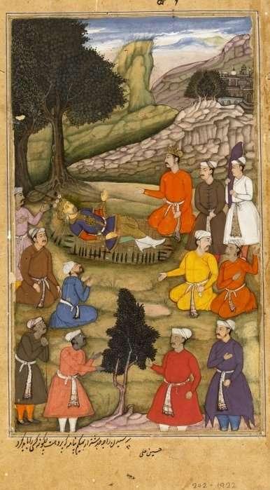 akbar favourite books mahabharata bhishma