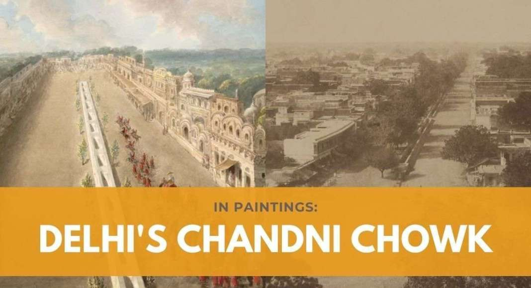 paintings chandni chowk
