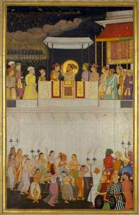 miniature Mughal Dara Shikoh wedding