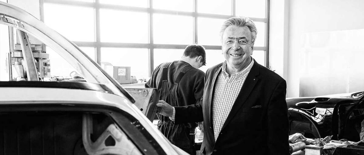 Alois Ruf Ruf Automobile Anmeldung