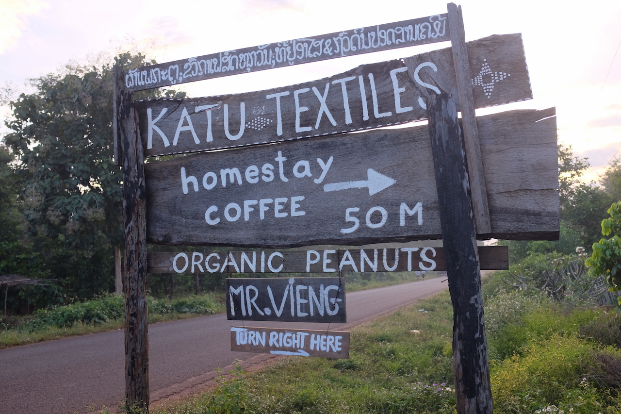 Directions to Mr. Vieng and Katu Homestay (Bolaven Plateau, Laos)