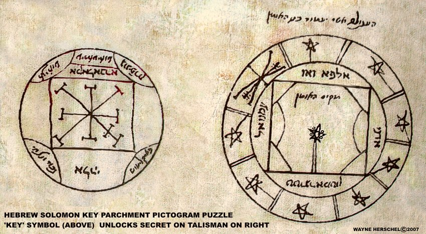 Key of Solomon is Solomon Key