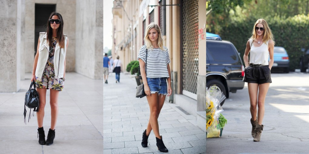 How to wear short boots