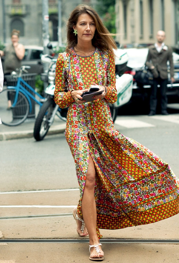 How to Wear Flats with a Dress don't be afraid to experiment