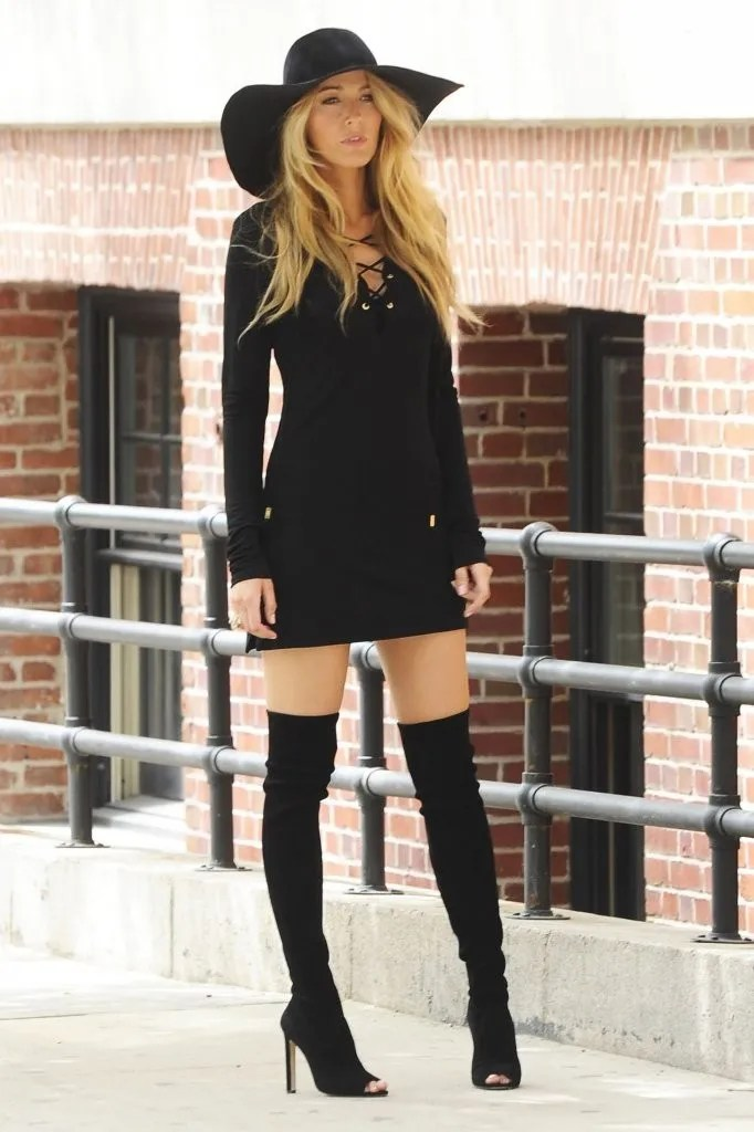 Outfits with Thigh High Boots 2017 Fashion Ideas Tips and Advice - HI FASHION