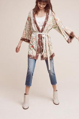 What to Wear to a Music Festival Outfit Bohemian Duster Kimono Floral