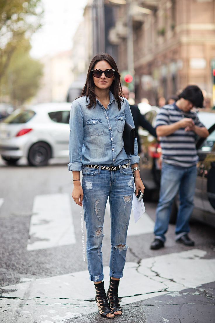 How To Wear Gladiator Sandals Over Jeans