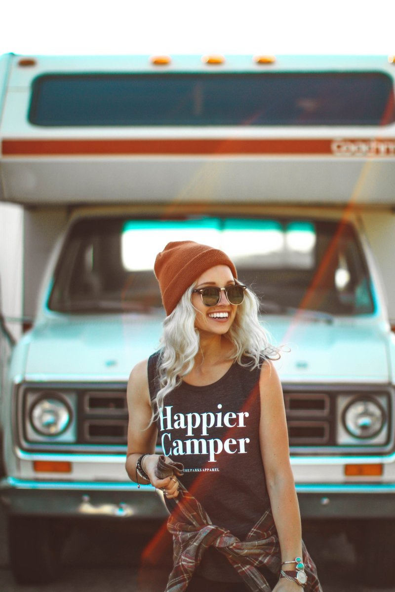 Fashionable hiking outfits happier camper