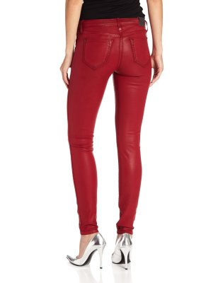 BLEULAB Reversible Legging Jean for Women with Eight Pockets