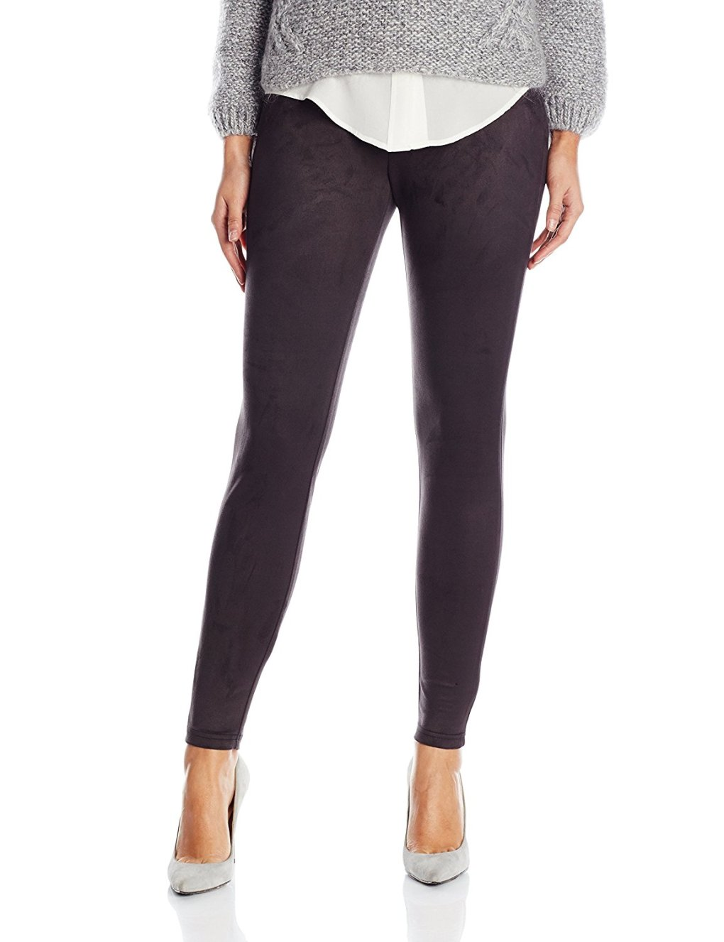 Miraclebody by Miraclesuit Women's Gia Faux Suede Legging