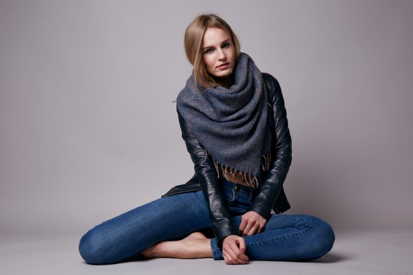 How to Wear a Blanket Scarf - Ideas and Style Tips