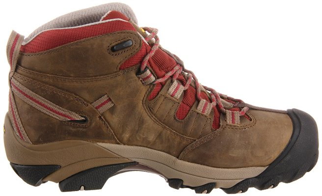 KEEN Utility Women's Detroit Mid Steel Toe Work Boot