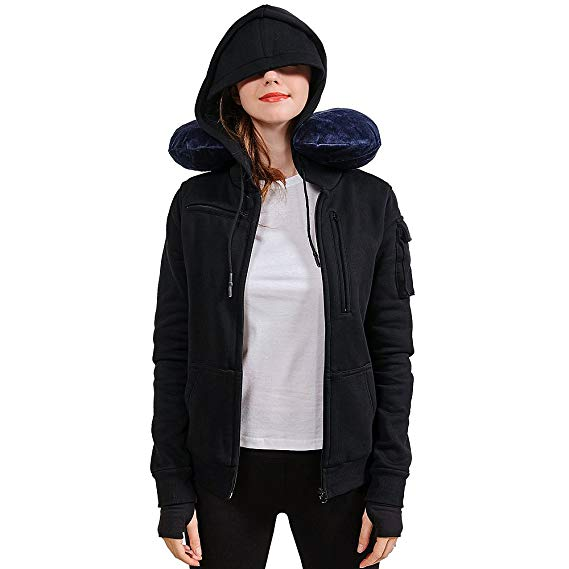 Best Travel Hoodies Keeping All Your Items Near You Hi