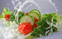 sliced of veggies
