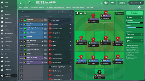 FM18 Formation Guide: 4-4-2 | The Higher Tempo Press