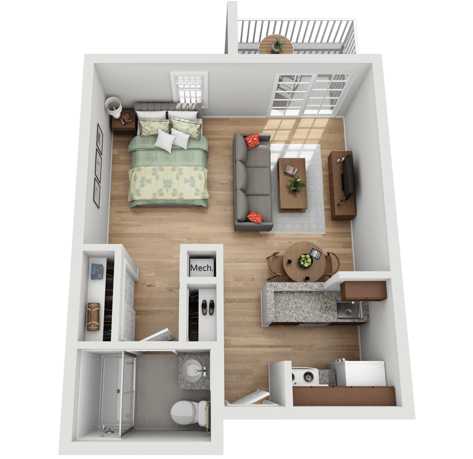 Studio Apartment The Highlands At Wyomissing