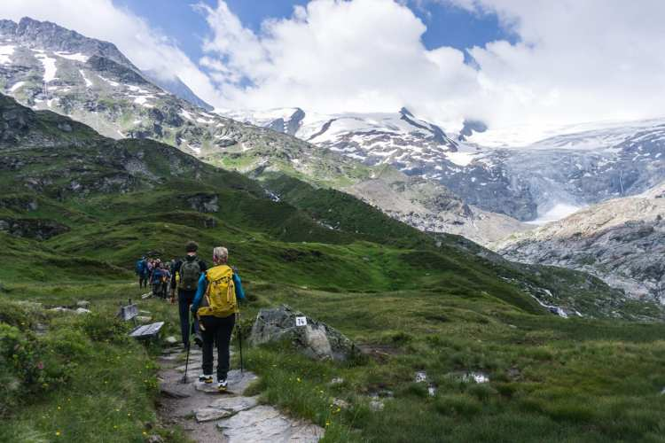 Gletscherweg Innergschlöss