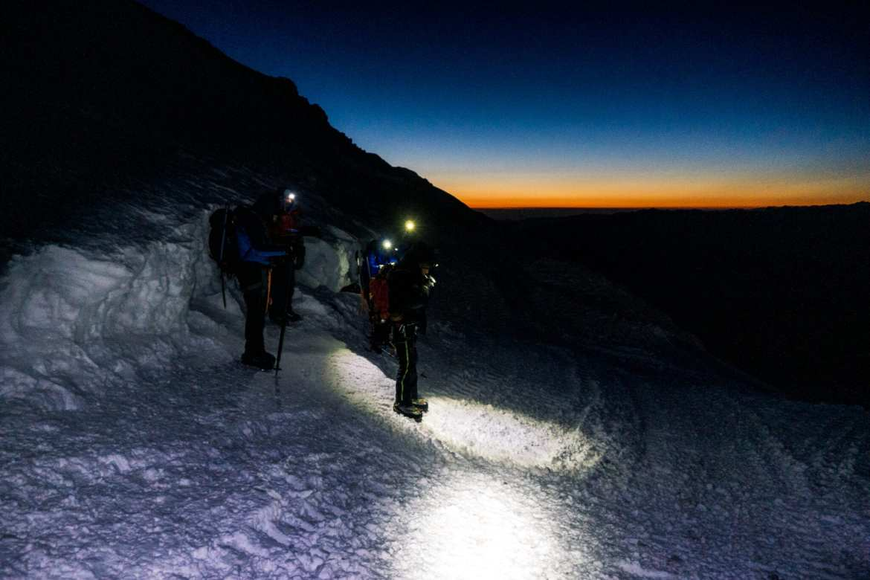 Elbrus paklijst toppoging 5100 meter