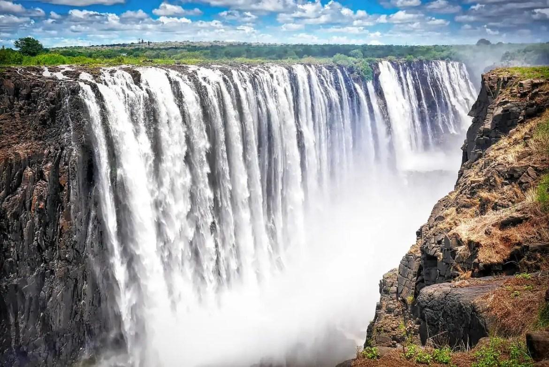 Mooiste watervallen ter wereld Victoria falls