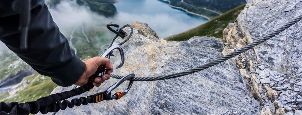 Via Ferrata Klettersteig tips The Hike