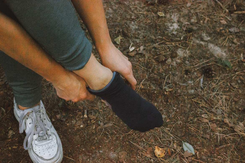 On running sokken