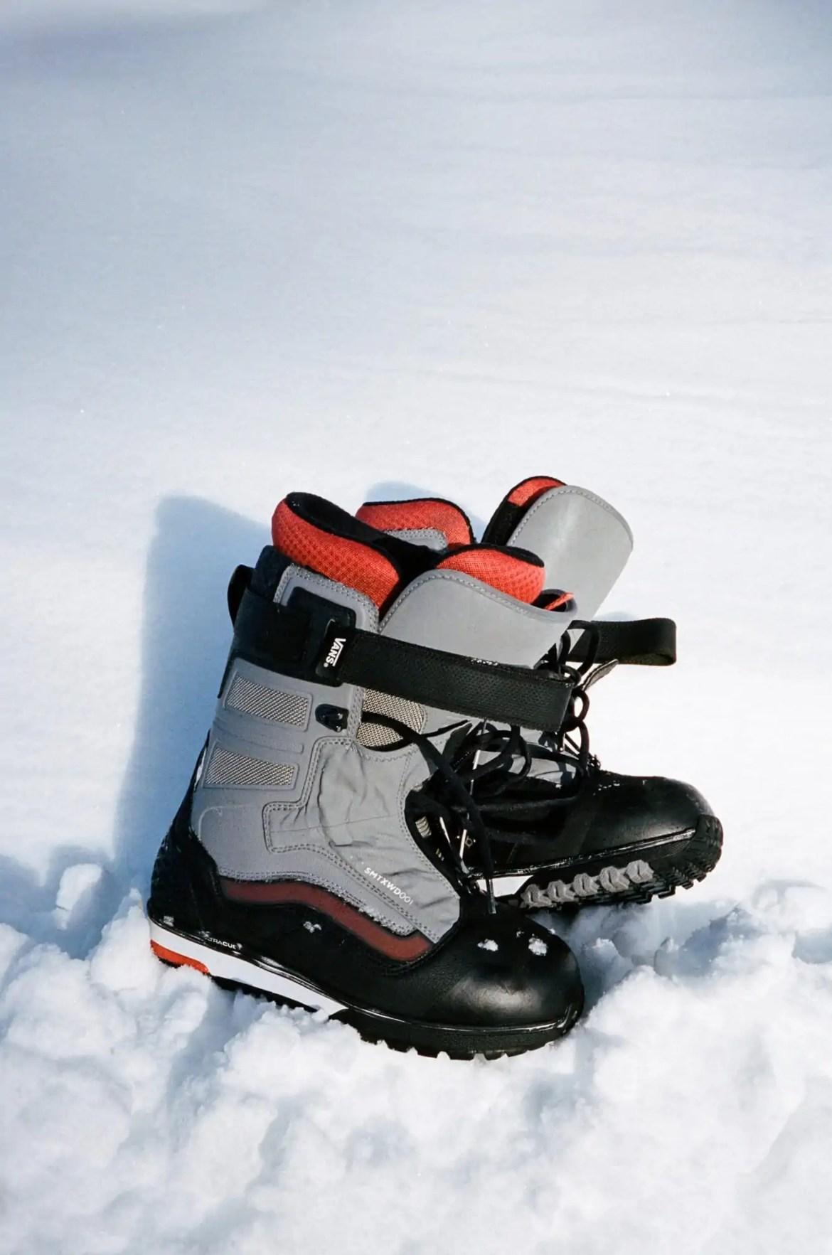 Vans Snowboardboots sneeuw