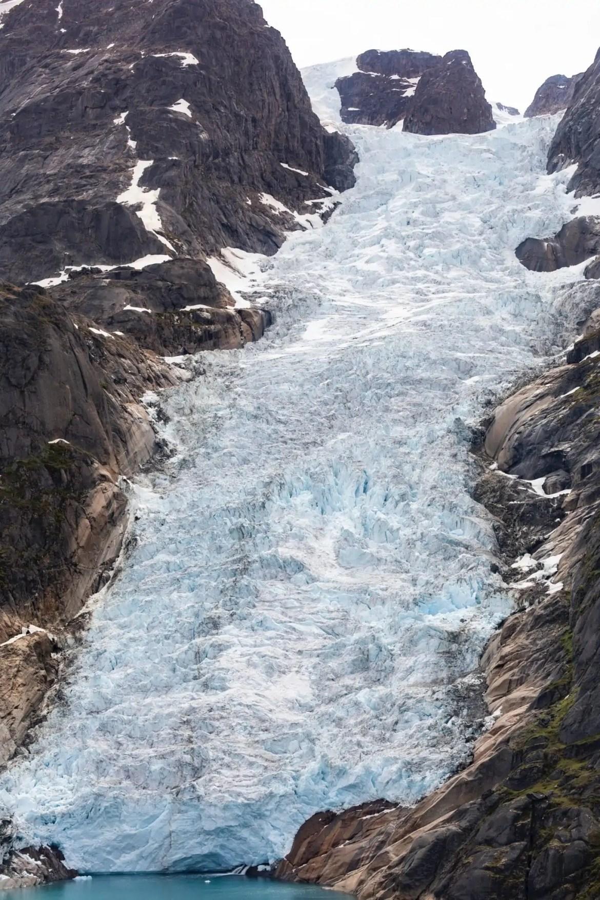 Groenland gletsjer