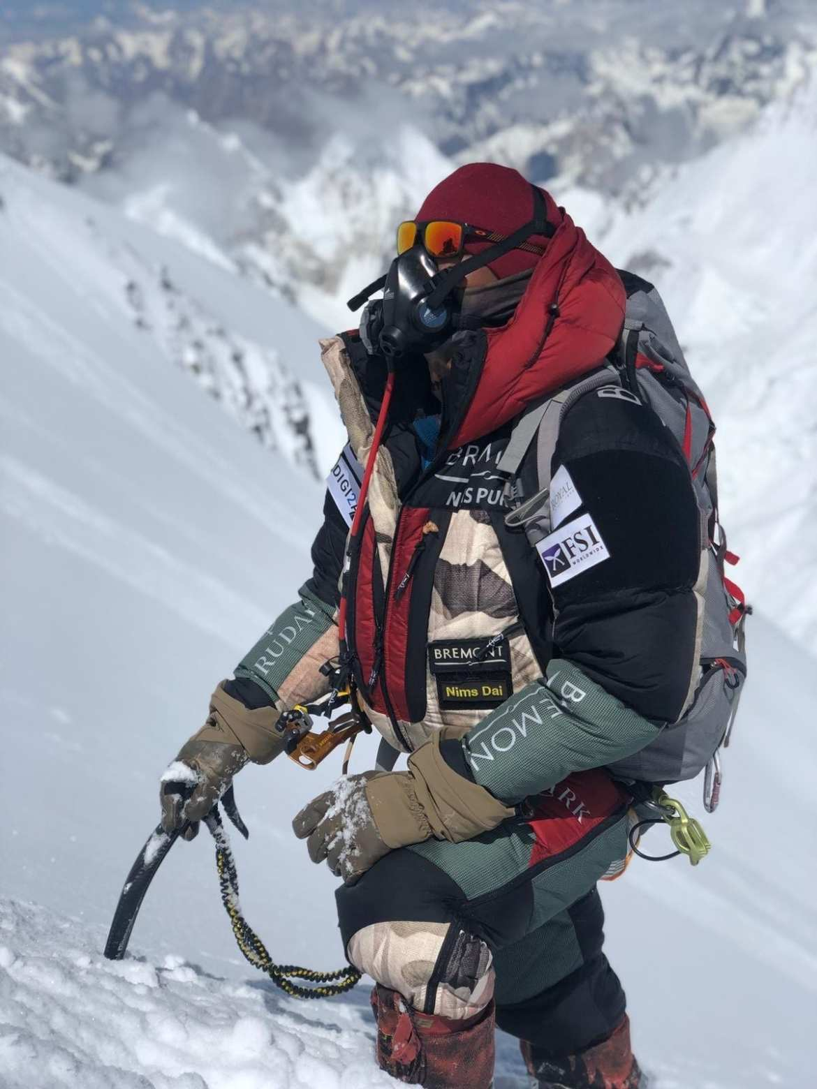 K2 winter Nimsdai