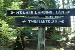Twin Lakes, Mountain Lake, Orcas Island, Moran State park, hiking with children