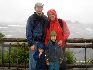 Cape Flattery, hiking with kids, children in nature