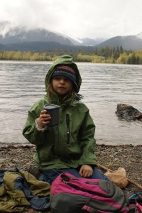 hot cocoa hiking kids nature baker lake trail