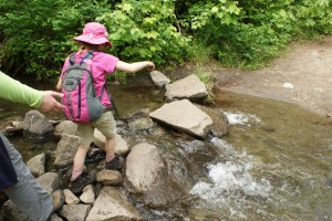 Tumwater Canyon Pipeline Trail kids hiking nature