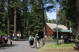 camping with kids metolius river