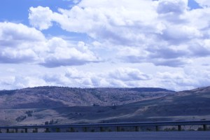 Highway 20, Okanogan, clouds