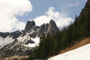 highway 20 mountains, north cascades, sightseeing