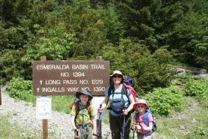Esmerelda Basin, Hiking with children, teanaway, kids in nature