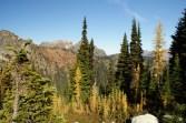 north cascades hikes, heather pass