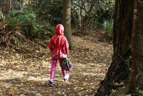 kids in nature, green hour, nature walk,