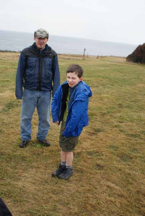 rain gear, wet kids, wind and rain, kids in nature