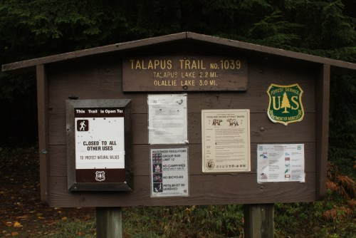 Hiking with children, I-90 trails